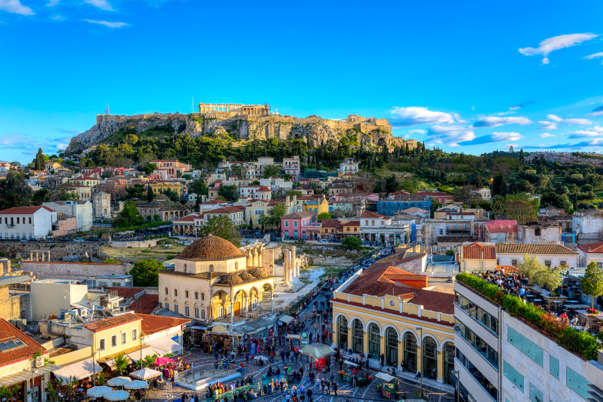 Travel Experiences in Europe Athens