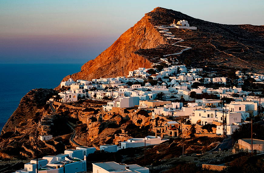 Undiscovered Greek Islands to Get Off the Beatten Track Folegandros