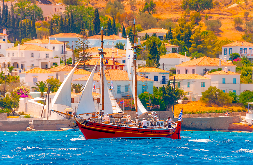 Undiscovered Greek Islands to Get Off the Beatten Track Spetses