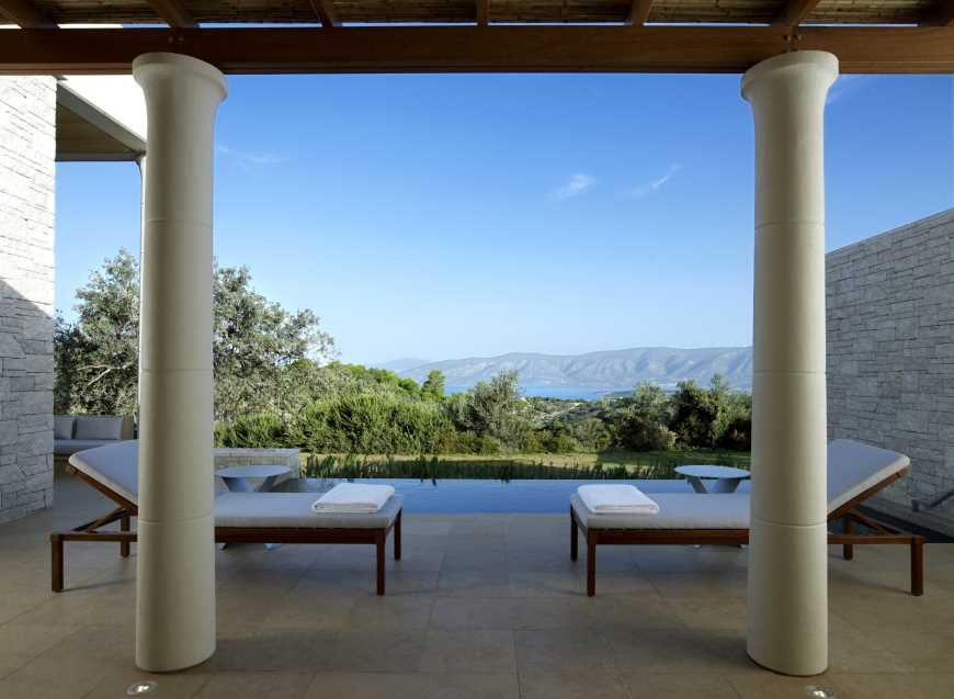 experience the mythical Peloponnese amanzoe body